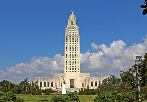 batonrougelouisianastatecapitol - Look out over Louisiana from the Capitol. [ATTDT]