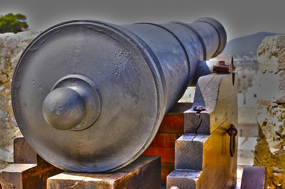 cannon - Inspect Plymouth's defences at Crownhill Fort. [ATTDT]