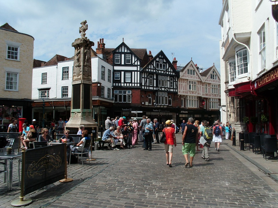 canterburystreetscape - Walk through history along Canterbury's streets. [ATTDT]