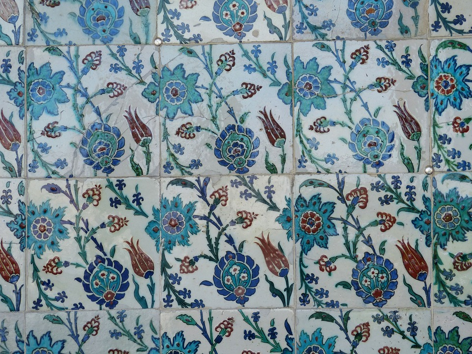 ceramictilesfloral - Discover the Istanbul style of tile. [A Thing To Do Tomorrow]
