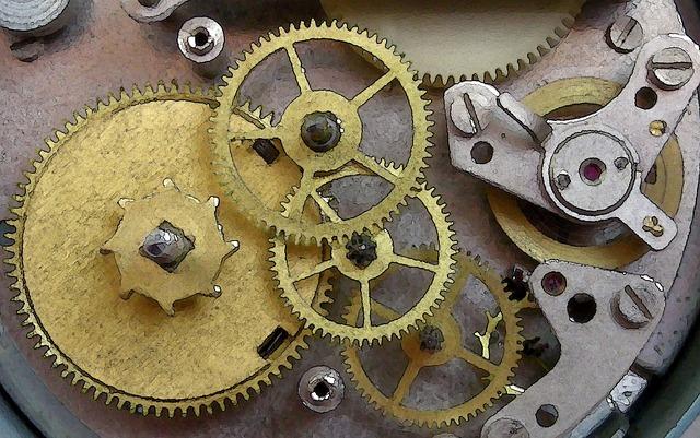 clockmechanism - Travel through time at the Hoffmann Clock Museum. [ATTDT]