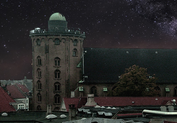 copenhagenroundtower - See the stars come out in Copenhagen. [ATTDT]