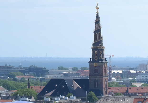 copenhagenvorfrelserskirke - See the sights from Copenhagen's spiral steeple. [ATTDT]