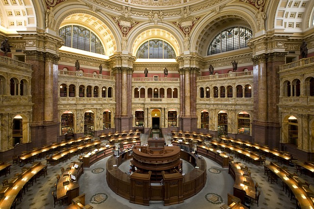 dclibraryofcongress - Tour the Library of Congress. [A Thing To Do Tomorrow]