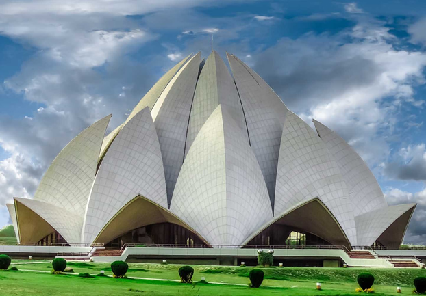 delhilotustemple - Experience quiet in Delhi. [A Thing To Do Tomorrow]