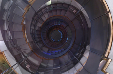glasgowlighthousesteps - Trek to the top of Mackintosh's lighthouse. [ATTDT]