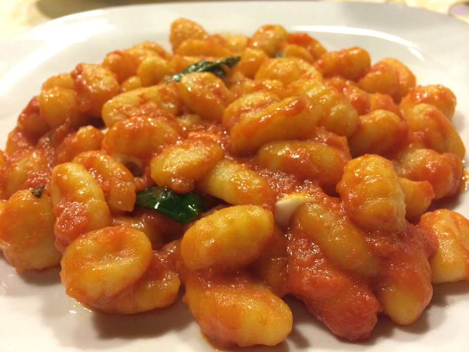 gnocchi - Indulge in gnocchi Thursday. [ATTDT]