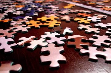 jigsaw - Complete a jigsaw puzzle. [A Thing To Do Tomorrow]