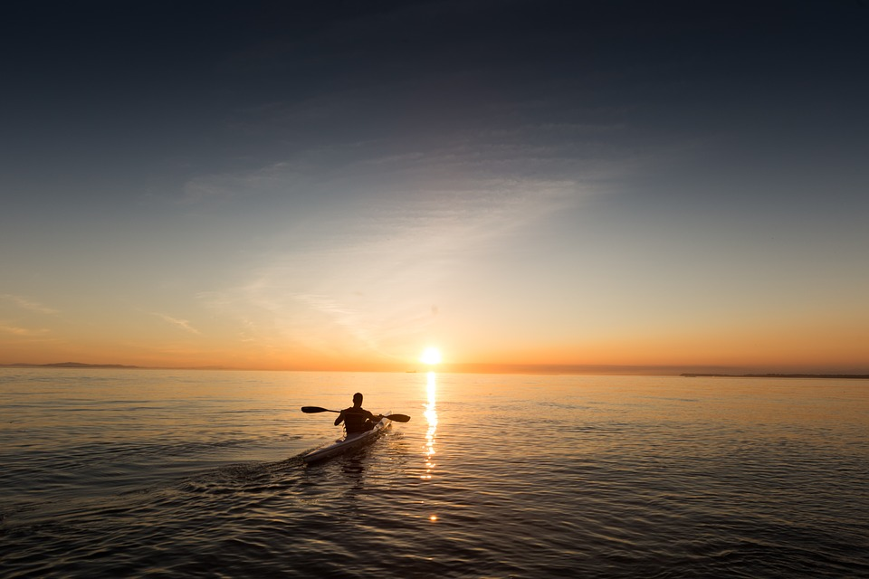 kayaksunset - Have an oarsome time on the Chicago River. [ATTDT]