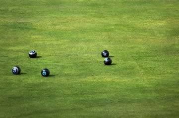 lawnbowling - Take up lawn bowling. [ATTDT]