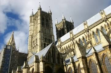 lincolncathedral - Visit the world's tallest building. In Lincoln. [ATTDT]