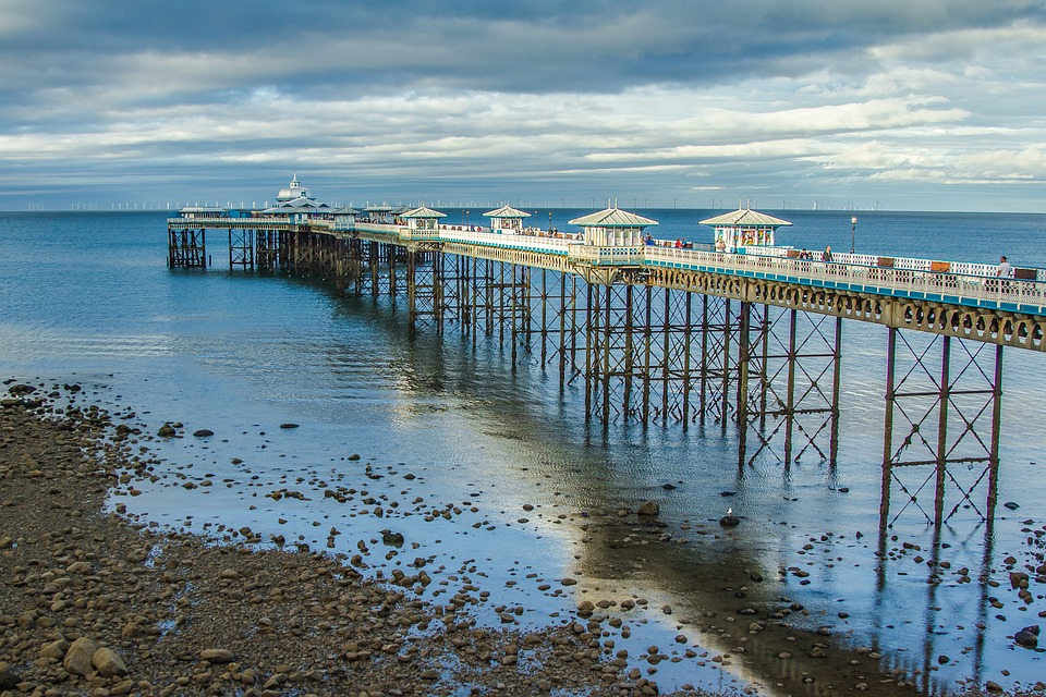 llandudnopier - Peer at the pier in Llandudno. [ATTDT]