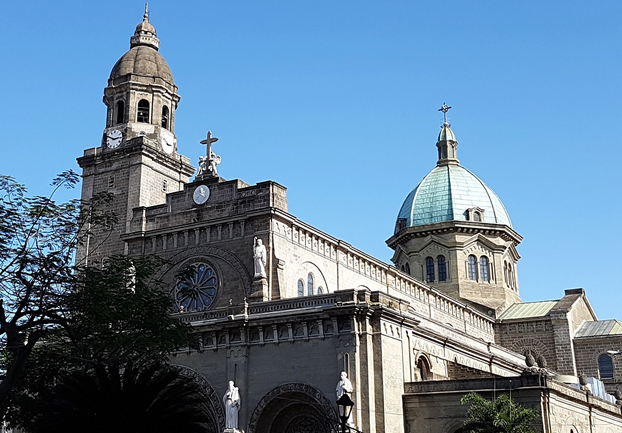 manilacathedral - See the cathedral that keeps coming back. [ATTDT]