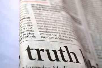 newspapertruth - Stop the press at the Newseum. [A Thing To Do Tomorrow]