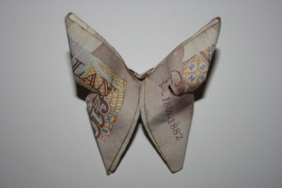 origamibutterflypounds - Turn banknotes into butterflies. [ATTDT]