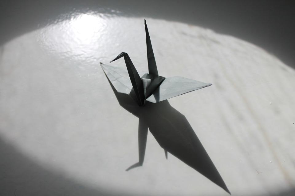 origamicrane - Make a crane out of paper. [ATTDT]