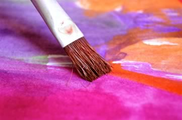 paintbrush - Have an artistic evening. [A Thing To Do Tomorrow]