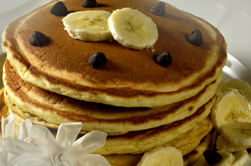 pancakes - Have a critically-acclaimed Sunday brunch. [ATTDT]