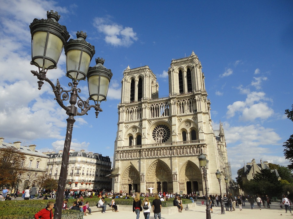 parisnotredamefront - Tour Notre Dame. [A Thing To Do Tomorrow]