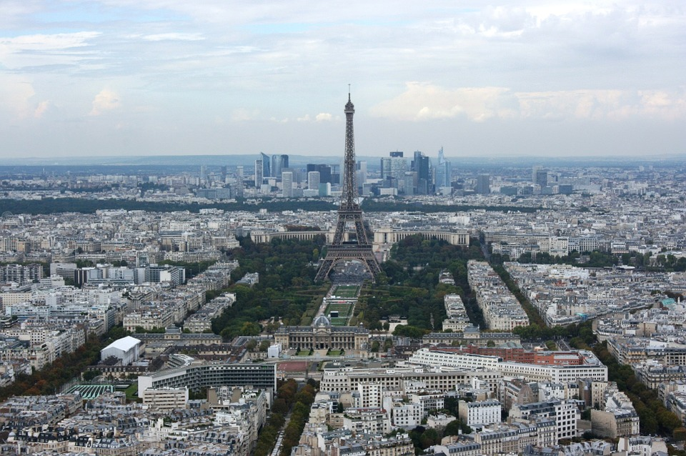 paristourmontparnasseview - Get a bird's eye view of Paris. [A Thing To Do Tomorrow]