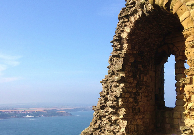 scarboroughcastle - Look out for invaders from Scarborough Castle. [ATTDT]