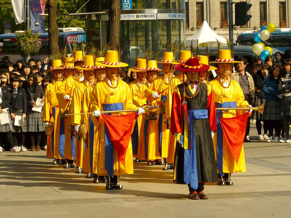 seouldeoksugungguard - See Seoul's Changing of the Guard. [A Thing To Do Tomorrow]