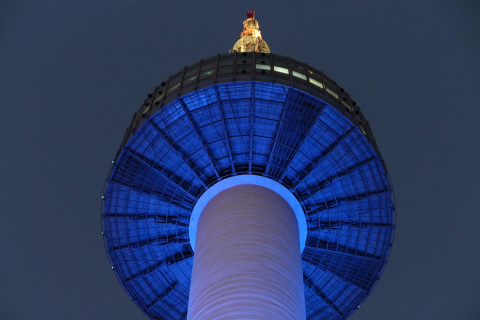 seoulnseoultower - Watch the sun set over Seoul. [A Thing To Do Tomorrow]