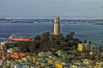 sfcoittower - Climb the world's biggest firehose nozzle. [A Thing To Do Tomorrow]