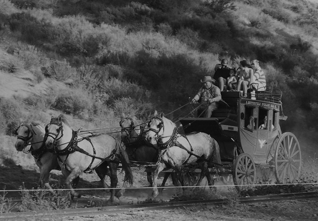 stagecoachbw - Ride through monetary history at Wells Fargo. [A Thing To Do Tomorrow]