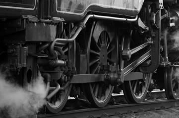 steamtrain - Steam into history at the Stephenson Railway Museum. [ATTDT]