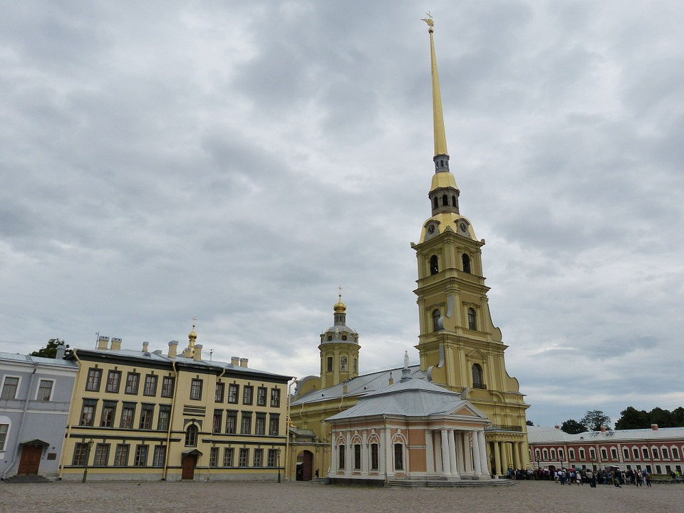 stpetersburgpeterpaulcathedral - Discover Russia's Emperors. [A Thing To Do Tomorrow]