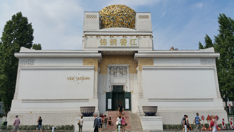 viennasecession - Discover a world of modern art. [A Thing To Do Tomorrow]