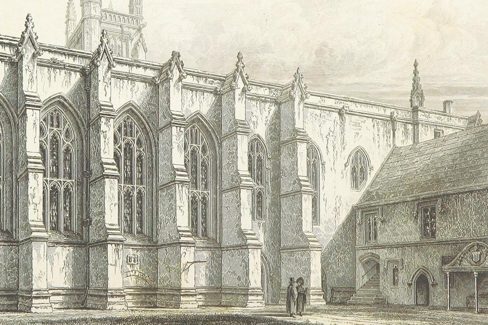 winchestercollege - Tour Winchester College. [ATTDT]